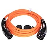 EV Type2 -> Type2 orange (3x32A) Type 2
